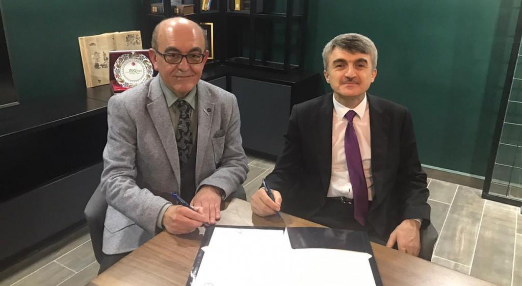 DPÜ ile Keramika Arasında Eğitim İş Birliği Protokolü