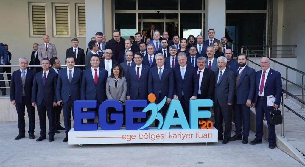Prof. Dr. Kazım Uysal EGEKAF2020 Tanıtım Toplantısı'na Katıldı