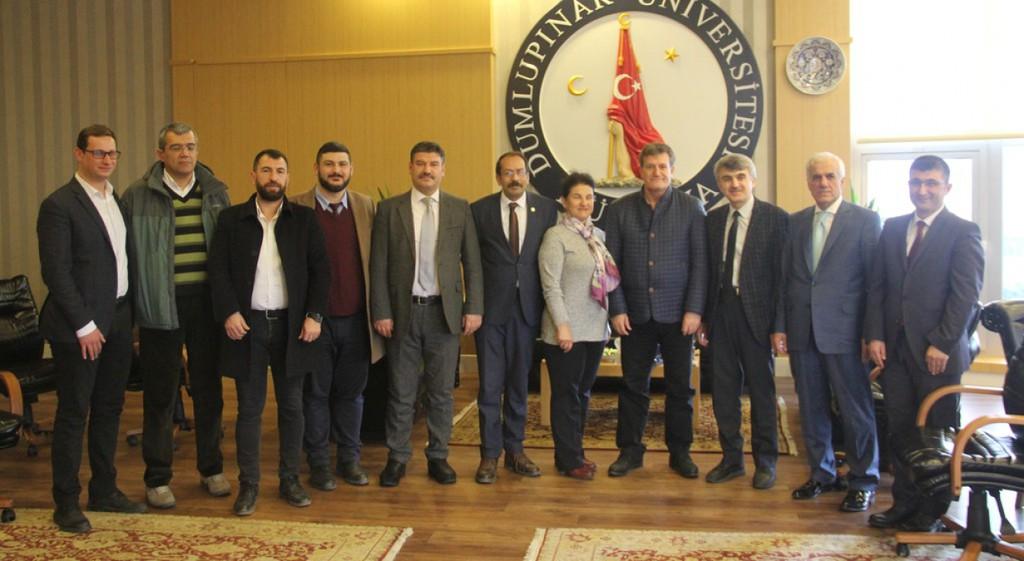 Prof. Dr. Erhan Arıklı'dan Rektörümüze Ziyaret