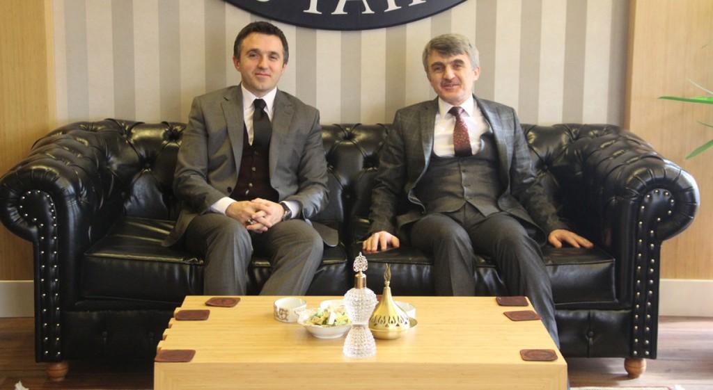 Aile ve Sosyal Politikalar İl Müdürü Turan'dan Rektörümüze Ziyaret