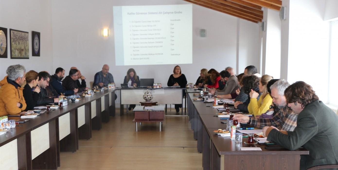 Birim Kalite Danışma Kurulu 2020 Yılı 1. Olağan Toplantısı
