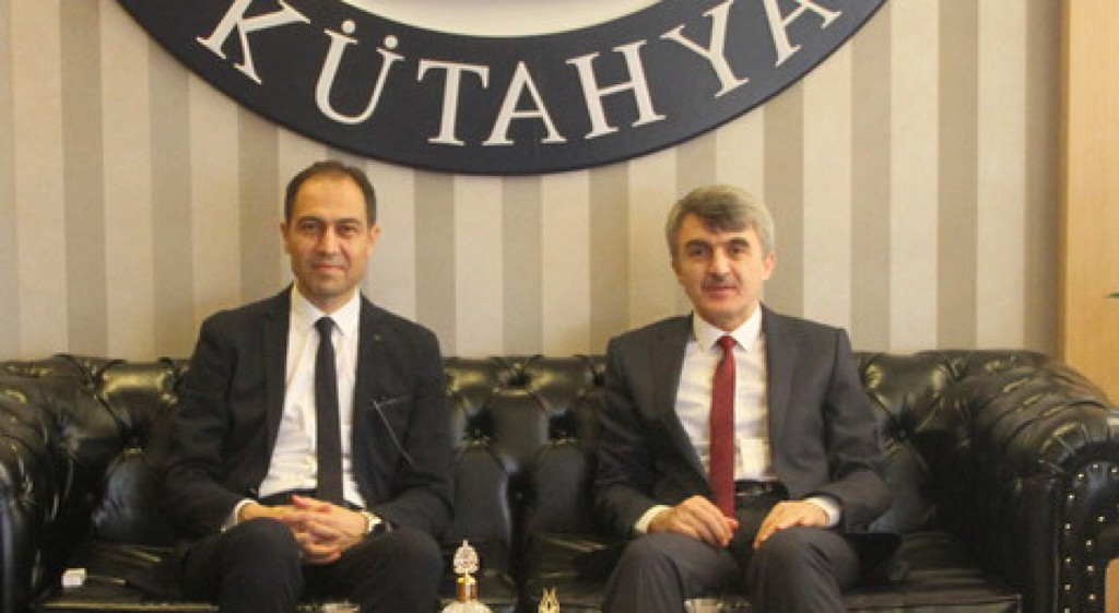 İl Sağlık Müdürü Erşan'dan Rektörümüze Ziyaret