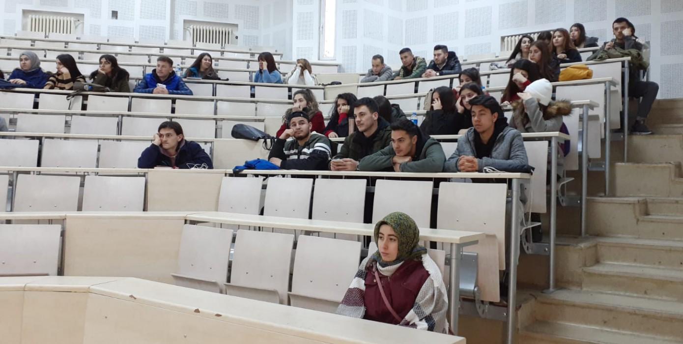 Erasmus / Mevlana / Farabi Değişim Programları Bilgilendirme Toplantısının İlk Toplantısı Gerçekleştirildi