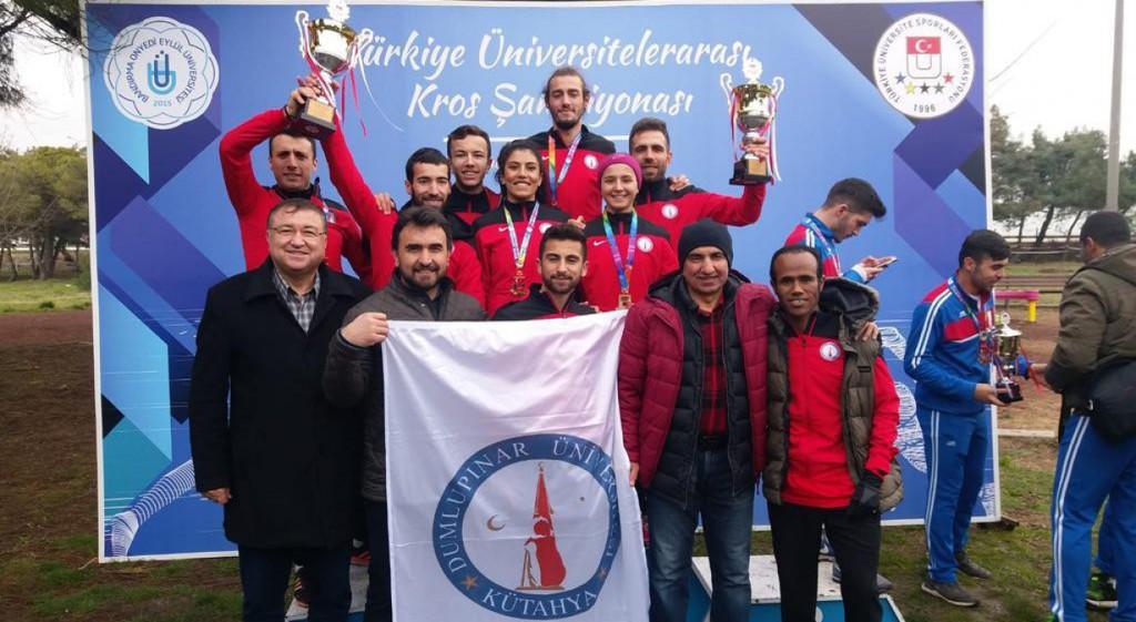 TÜSF Kros Türkiye Şampiyonasına DPÜ Damgası