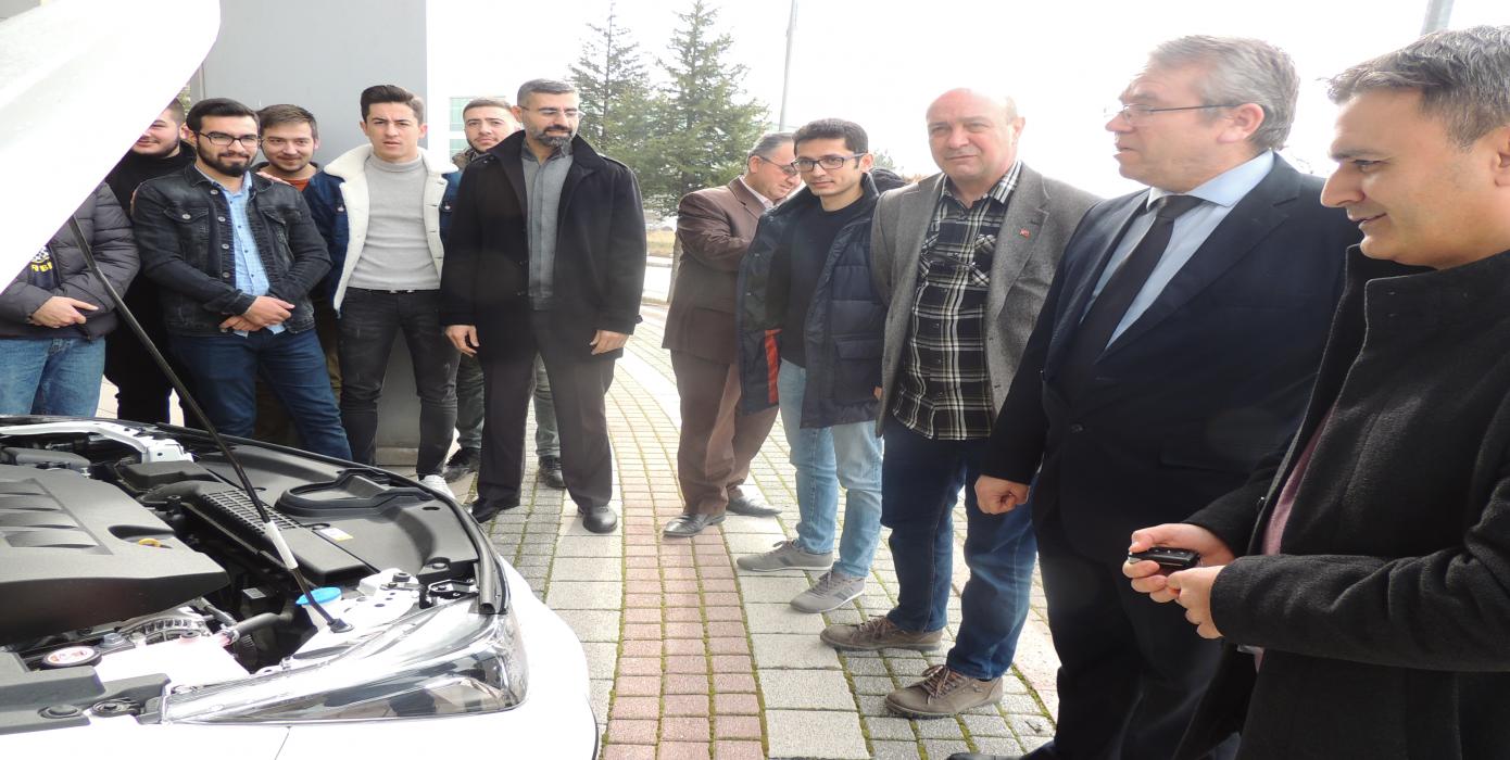 Toyota Otomotiv Sanayi Türkiye A.ş. Tarafından Hibe Toyota Otomobil