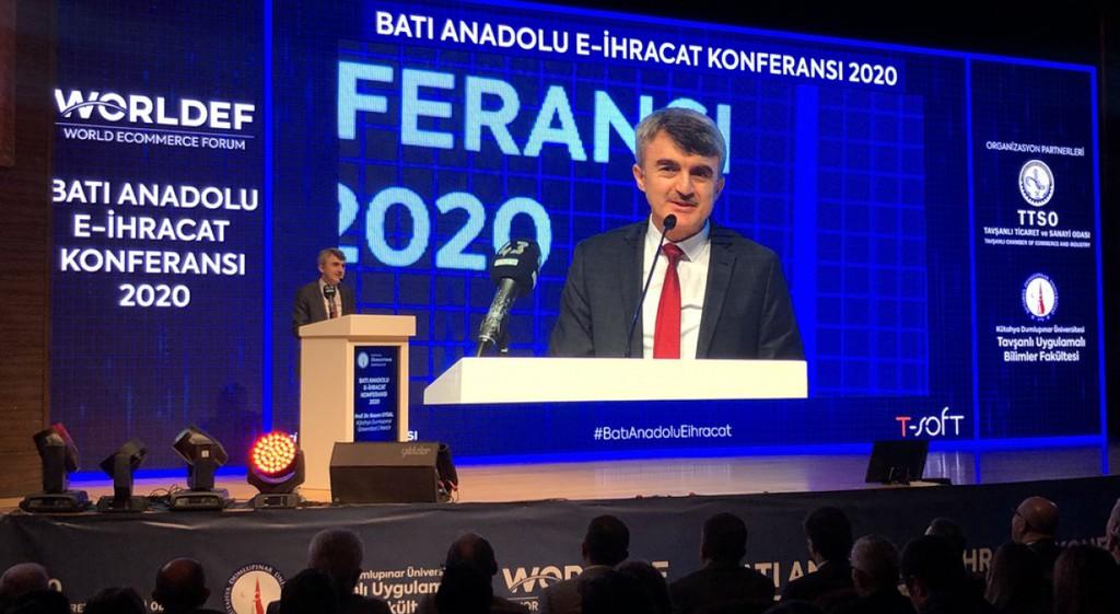 Kütahya'da Batı Anadolu E-İhracat Konferansı