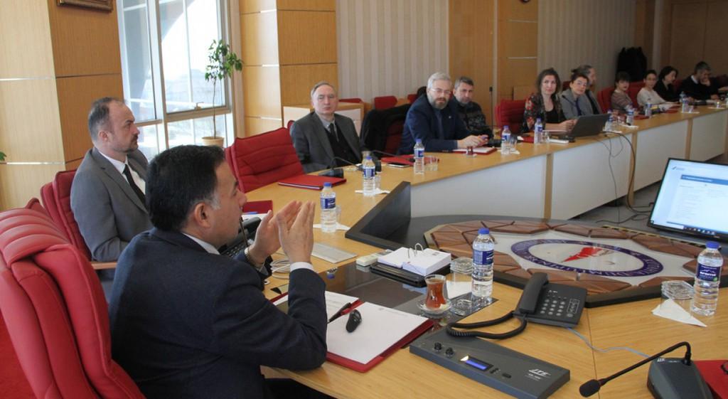 DPÜ'de Kalite Komisyonu ve Kalite Alt Çalışma Grupları Toplantısı