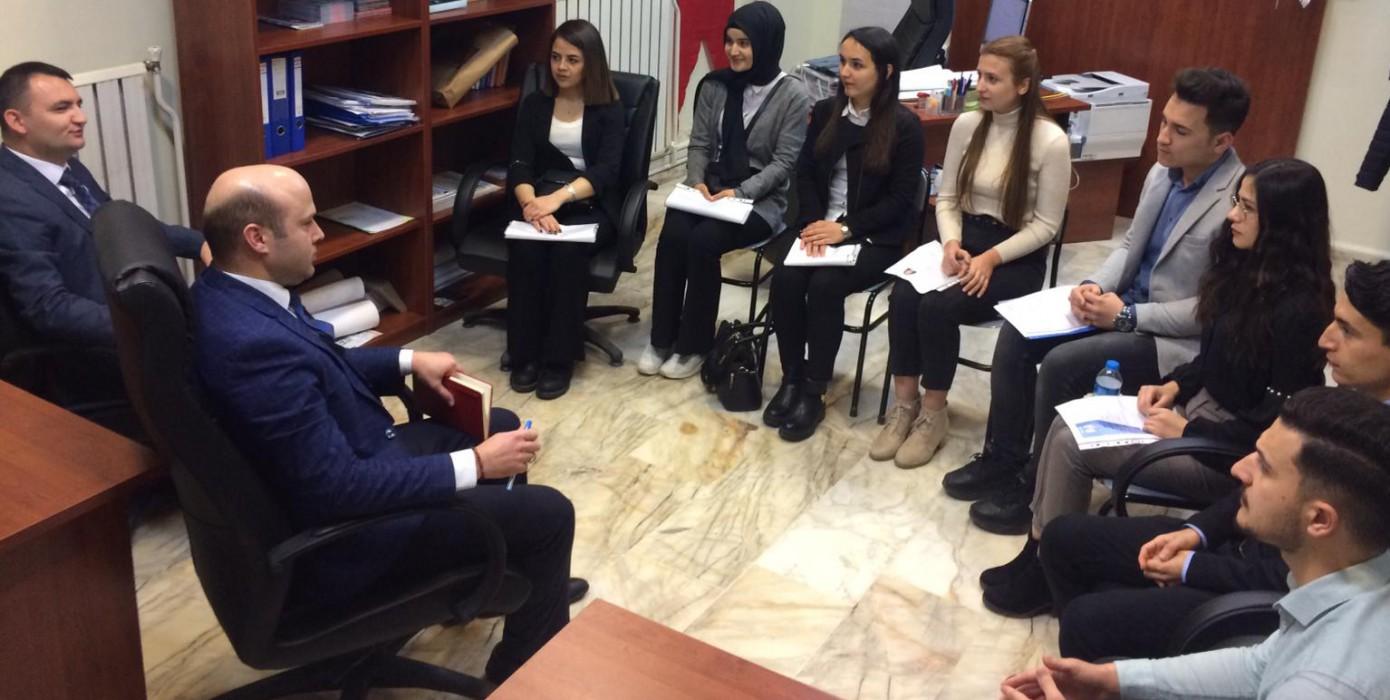 Genç Albaraka Akademisi Mülakatı Dpükamer'de Yapıldı.