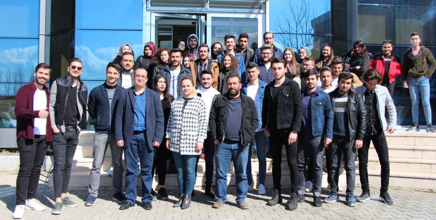 Gediz MYO İş Sağlığı ve Güvenliği Öğrencileri Gediz Ambalaj Fabrikasına Teknik Gezi Düzenledi