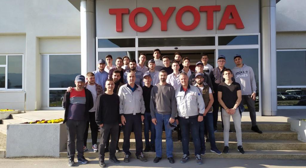 Tavşanlı MYO'dan Toyota Fabrikasına Teknik Gezi