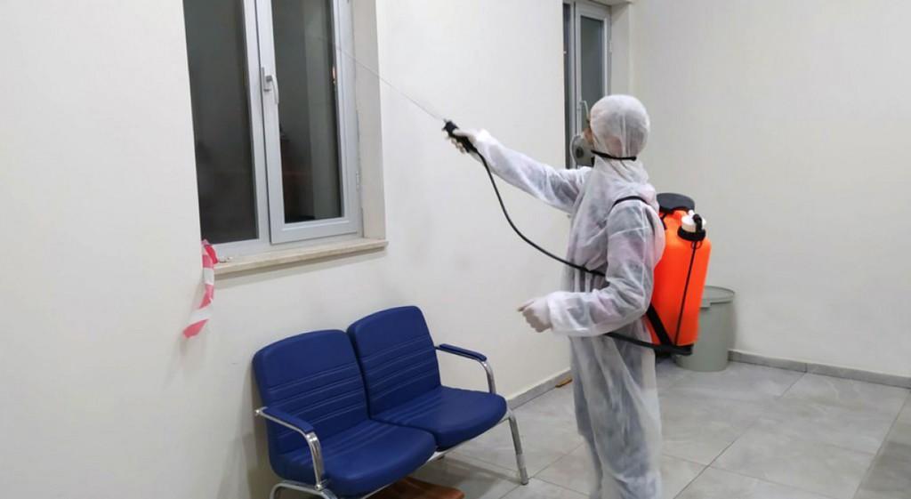 DPÜ'de Koronavirüs'e Karşı Dezenfektasyon İşlemleri Tamamlandı