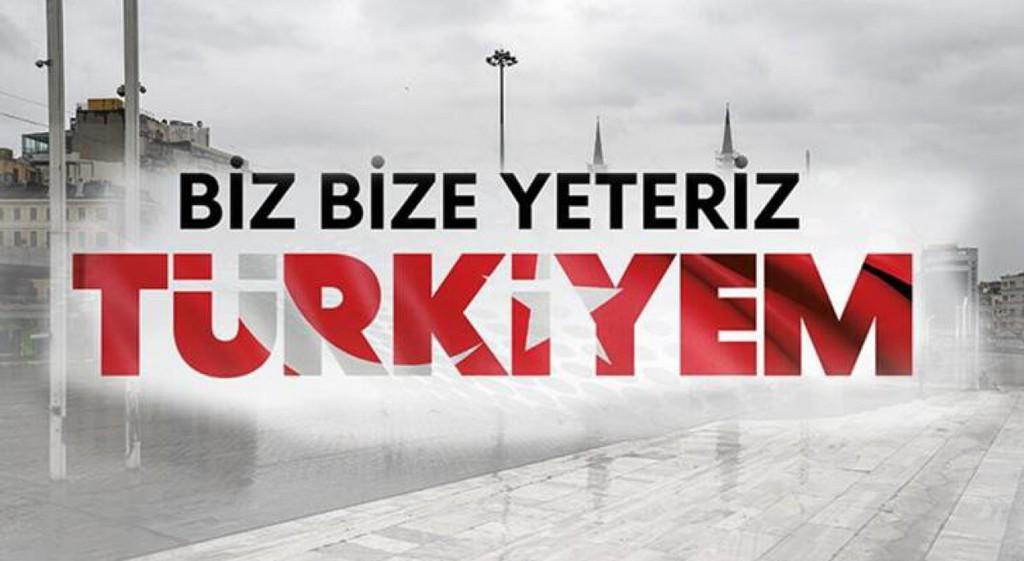 DPÜ Senatosu 'Biz Bize Yeteriz Türkiyem' Dedi