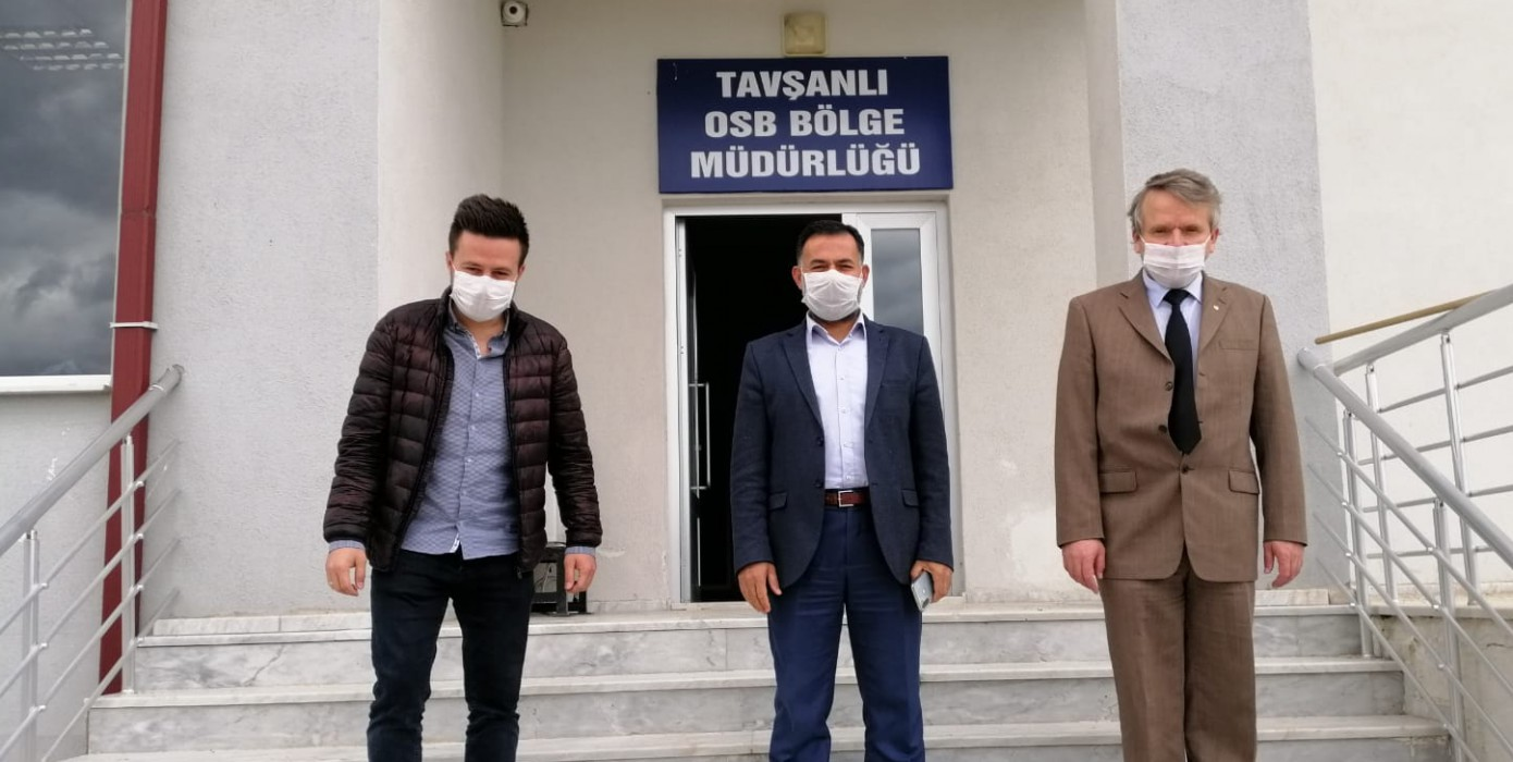 Rektör Yardımcımız Prof. Dr. Mustafa Aydın'ın Tavşanlı Osb'yi Ziyareti