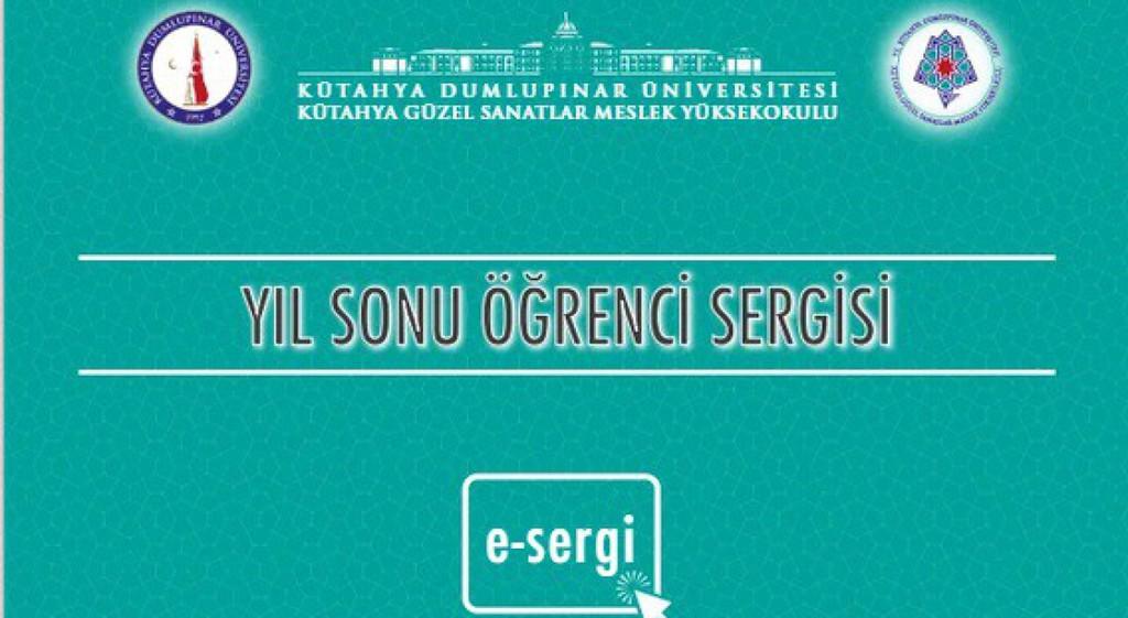 DPÜ KGSMYO'nun Yıl Sonu Öğrenci E-Sergisi Açıldı