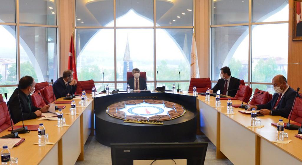 DPÜ'de ÖSYM İl Koordinasyon Kurul Toplantısı