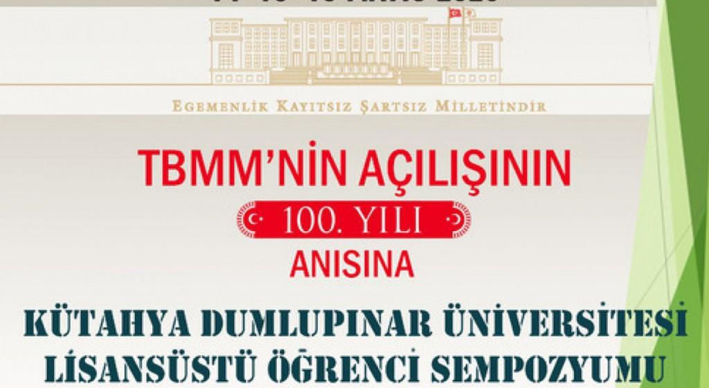 DPU Graduate Student Symposium Started