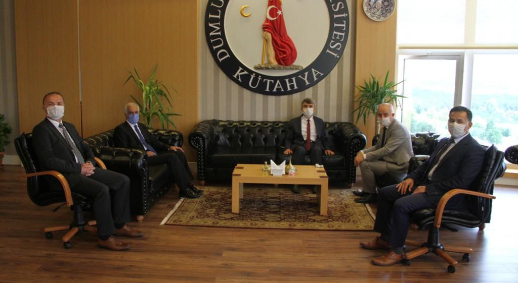 Kütahya Milletvekili Ali Fazıl Kasap'tan Rektörümüze Ziyaret