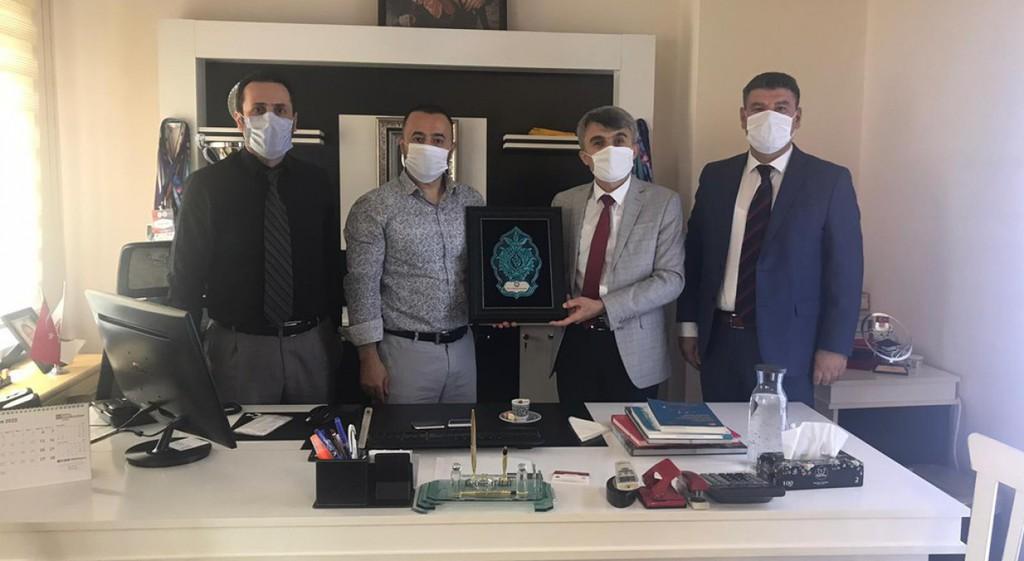 Rektörümüzden Türkiye Muaythai Federasyonuna Ziyaret
