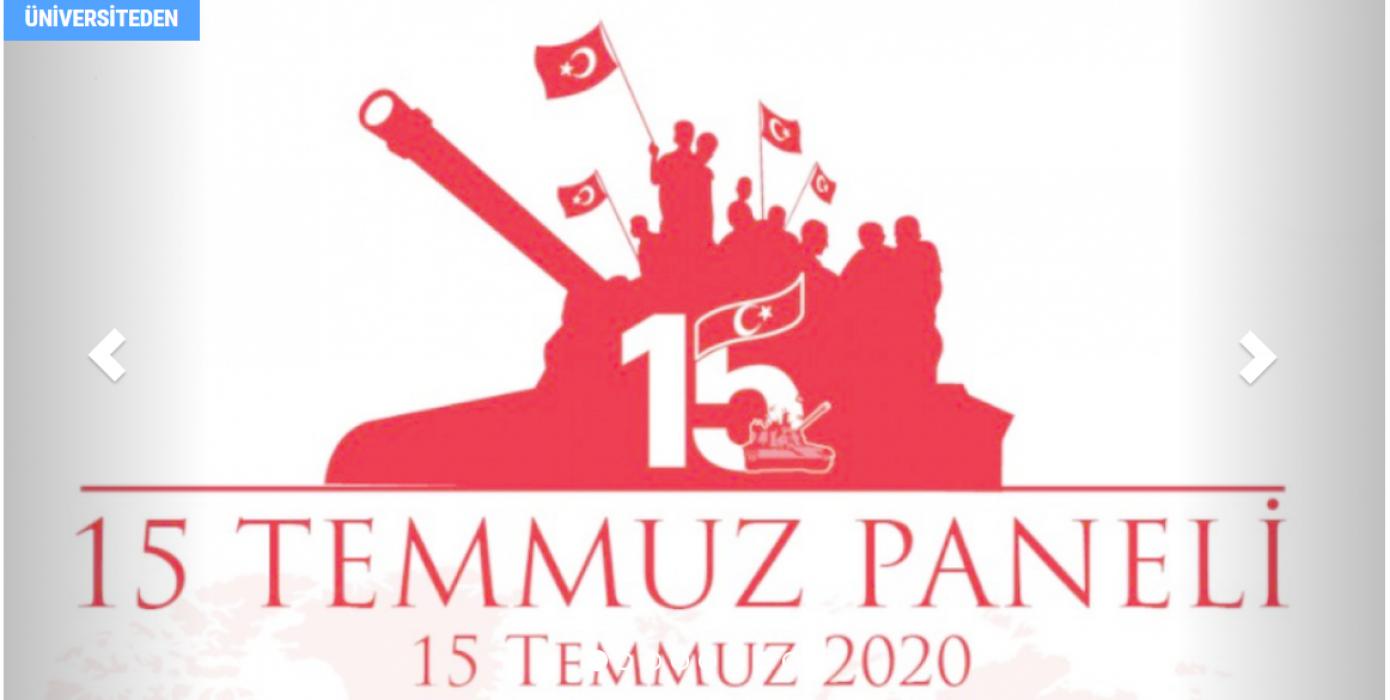 Dpü'de 15 Temmuz Paneli Düzenlendi