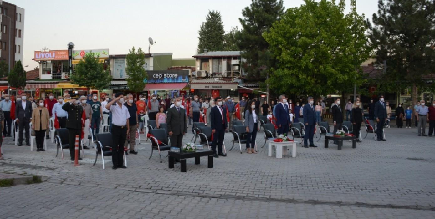 Gediz Myo, 15 Temmuz Demokrasi ve Milli Birlik Günü Programına Katıldı.