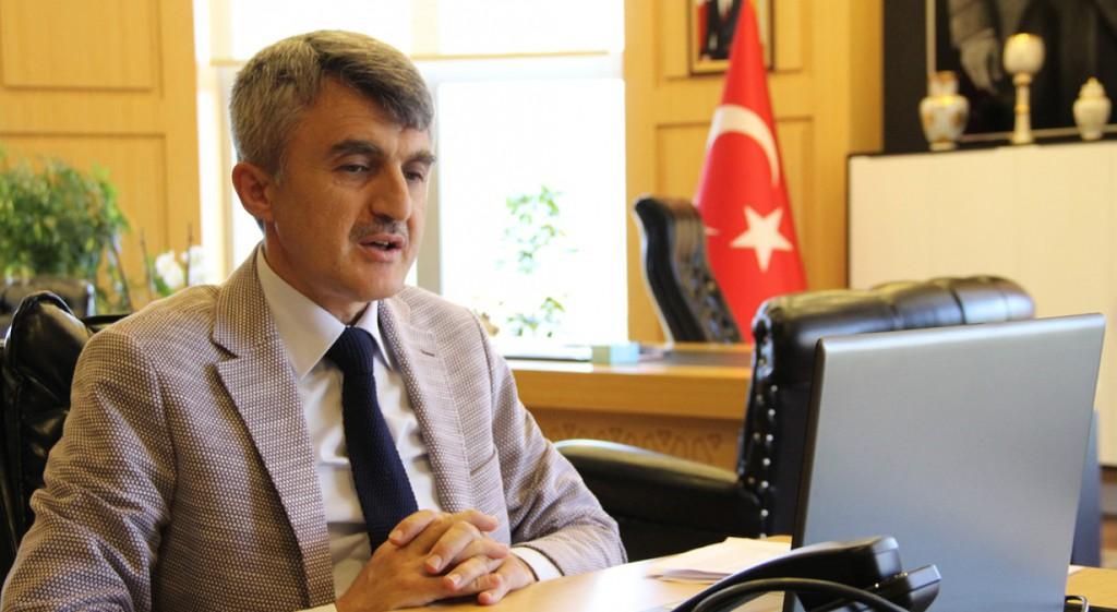 Prof. Dr. Kazım Uysal Medya Temsilcileriyle Görüştü