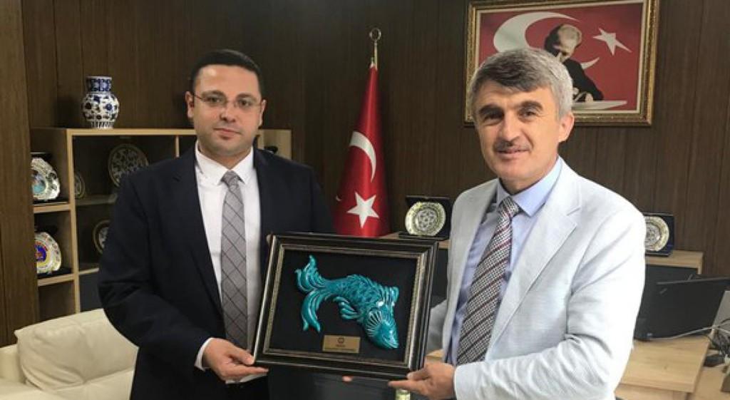 Rektörümüzden İdare Mahkemesi Başkanı Cengiz'e Ziyaret