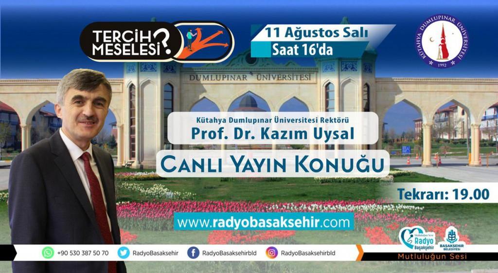 Prof. Dr. Kazım Uysal Tercih Meselesi Programına Konuk Oldu