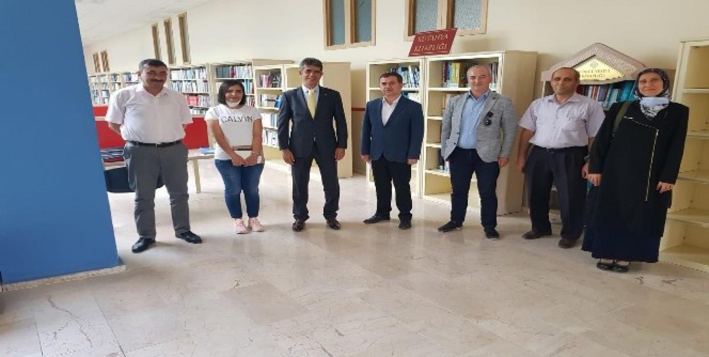 'Kütahya Kütüphaneleri İşbirliği Platformu' Oluşturulacak