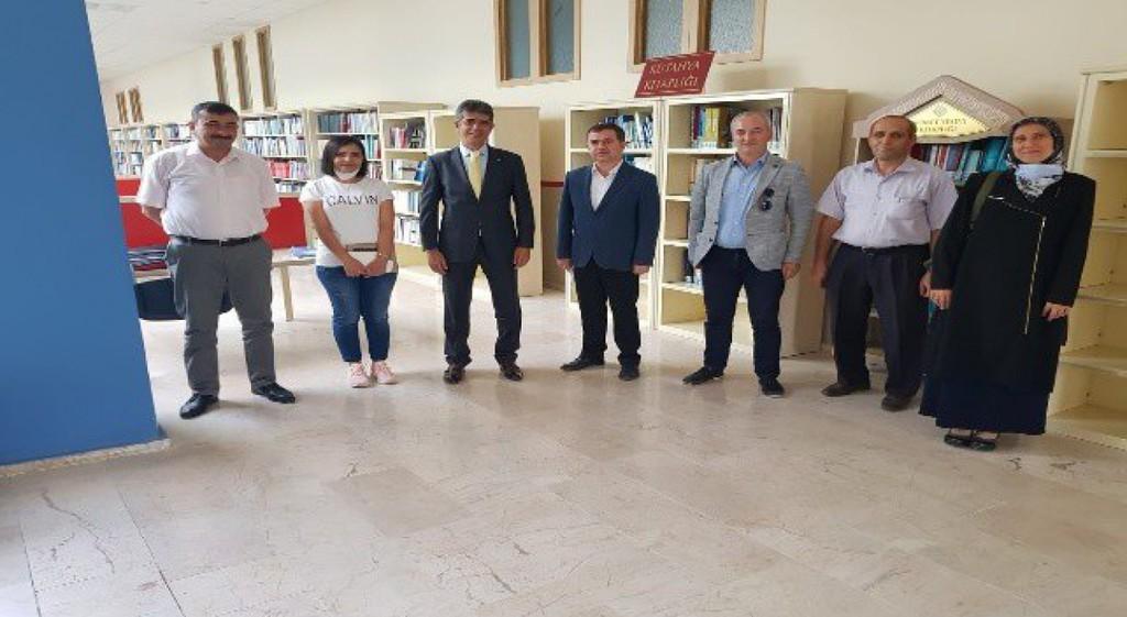 Kütahya Kütüphaneleri İş Birliği Platformu Kuruluyor