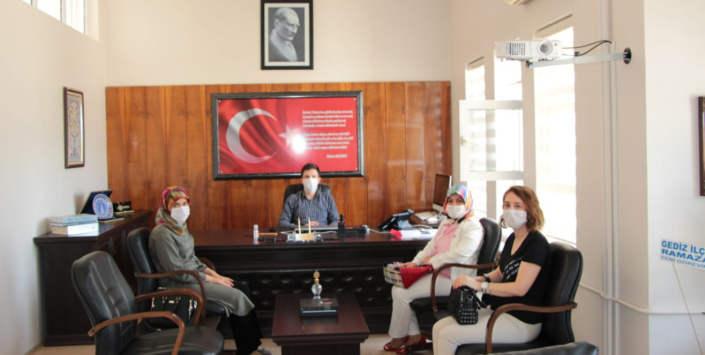 Gediz KYK Kız Yurdu Müdürlüğü'nden Gediz Meslek Yüksekokulu'na Ziyaret