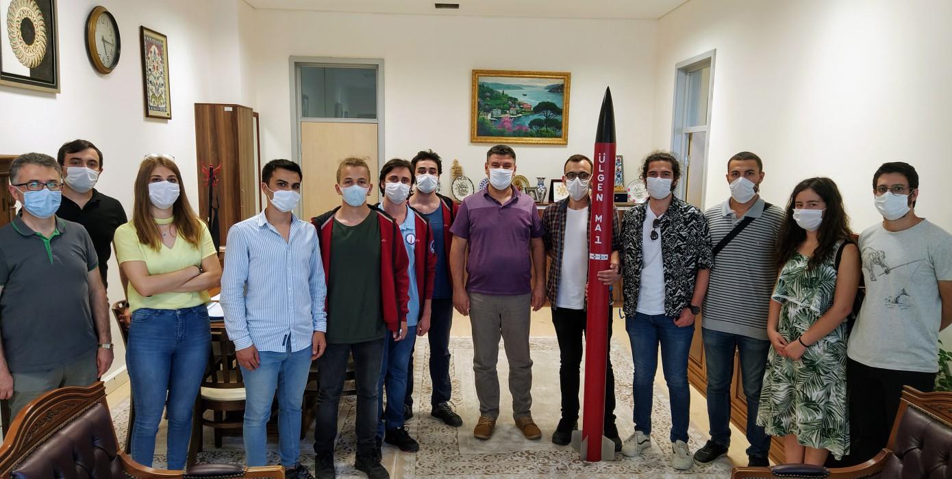 Ülgen Roket Takımı'nın Ziyareti