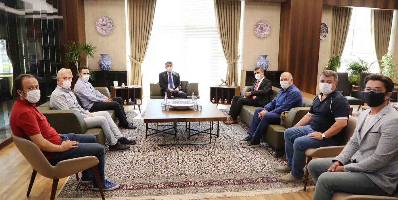 Fakülte Yönetimimizin Sayın Vali Ali Çelik'i Ziyareti