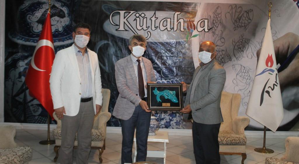 Rektörümüzden Sağlık ile Kültür ve Turizm İl Müdürlerine Ziyaret