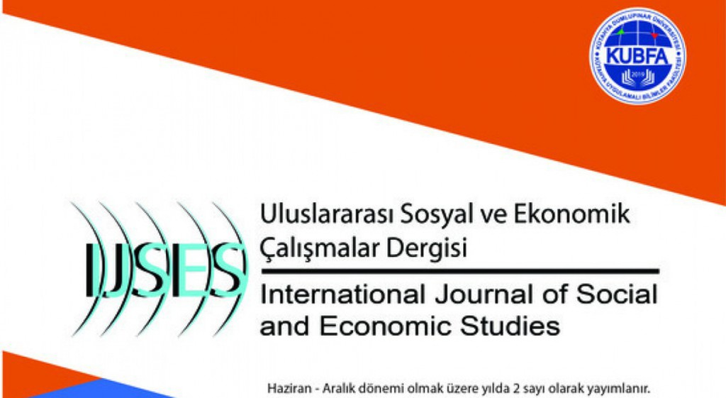 International Journal of Social and Economic Studies from DPU