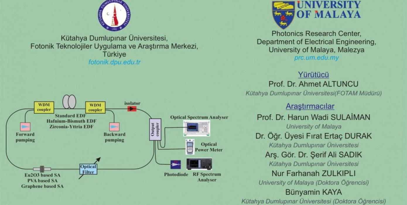 Öğretim Üyemiz Prof. Dr. Ahmet Altuncu'nun Projesine Önap Desteği