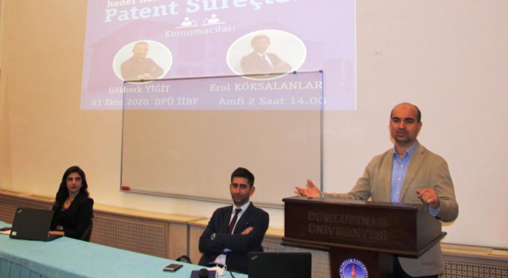 DPÜ'de Fikri Sınai Haklar ve Patent Süreçleri Konuşuldu