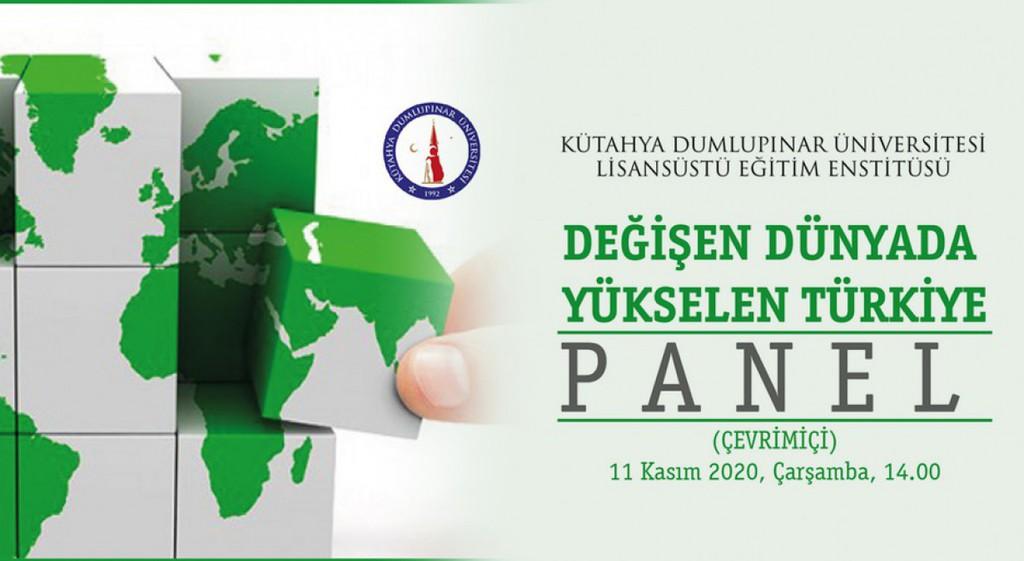DPÜ'den Değişen Dünyada Yükselen Türkiye Paneli