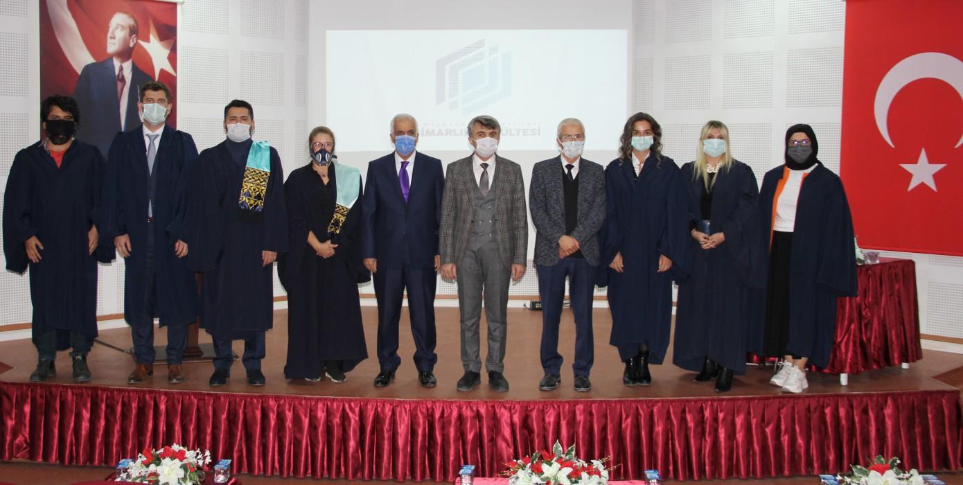 DPÜ Mimarlık Fakültesin'de Akademik Yükseltme Töreni