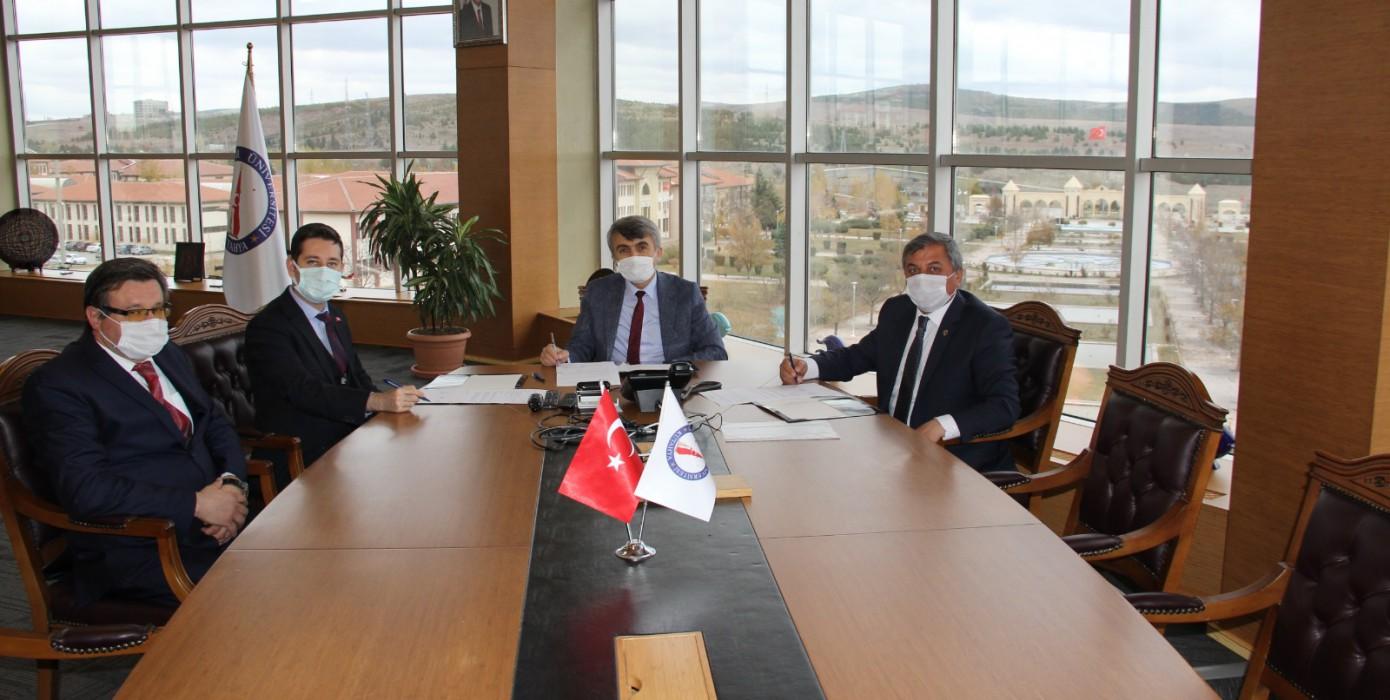 Dpü, Altıntaş Kaymakamlığı ve Altıntaş Belediyesi Arasında Üçlü Protokol İmzalandı