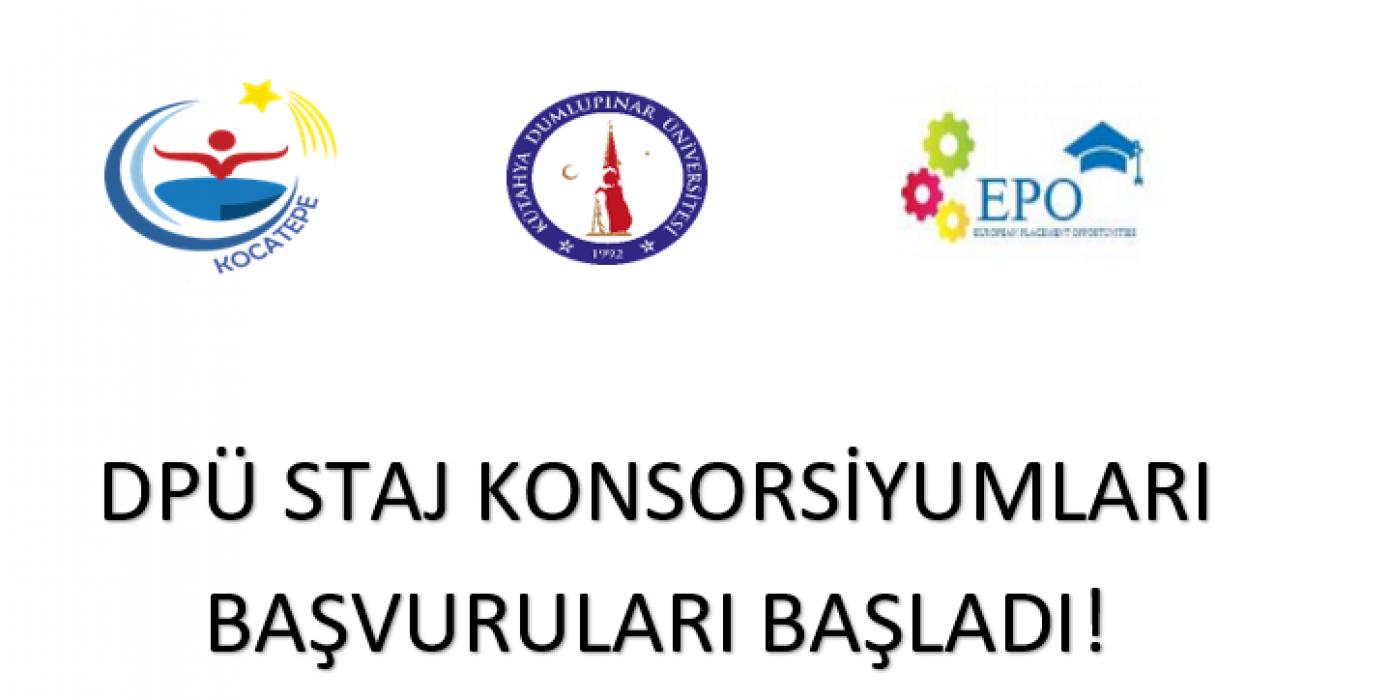 Erasmus+ Staj Konsorsiyumları Öğrenci Başvuru Duyurusu