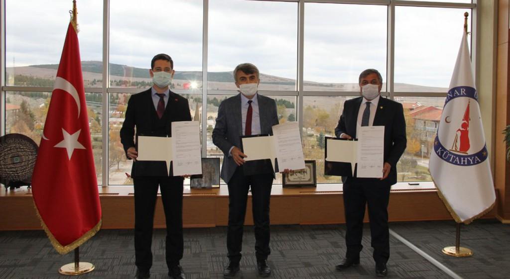 Altıntaş MYO Sosyal Tesisi İçin Üçlü İş Birliği Protokolü