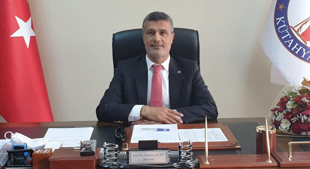 Türkiye Futbol Federasyonundan Dekanımız Acet'e Görev