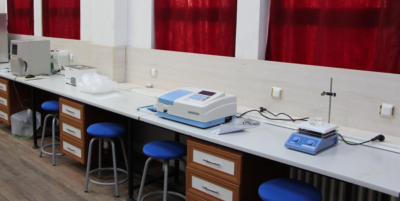 Meslek Yüksekokulumuz Tıbbi Laboratuvar Teknikleri Programı Laboratuvarı Kuruldu