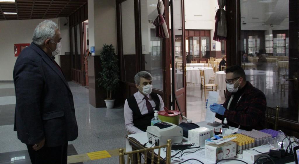 DPÜ'de Kan Bağışı Kampanyası