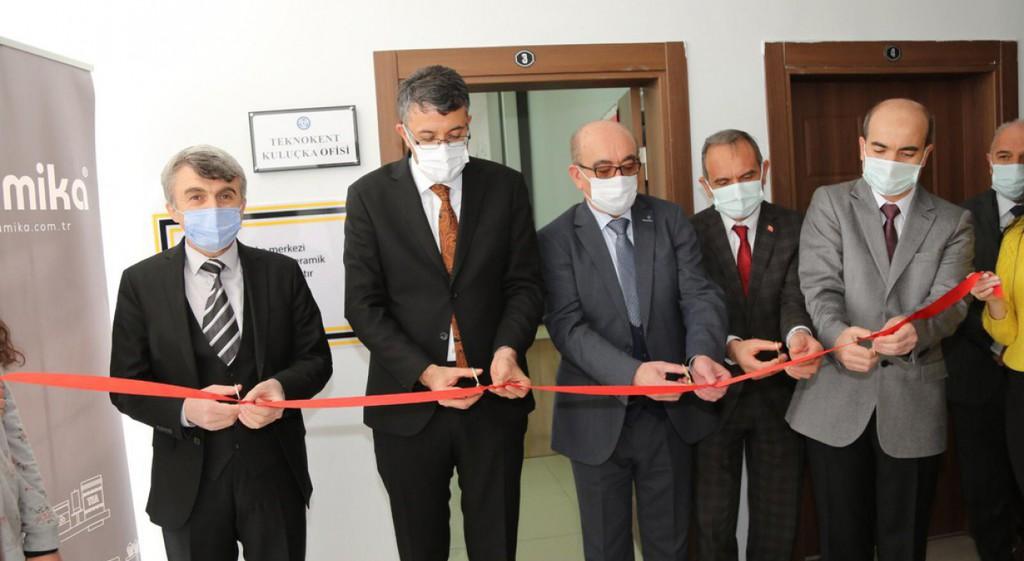 Keramika Kuluçka Merkezi Açıldı