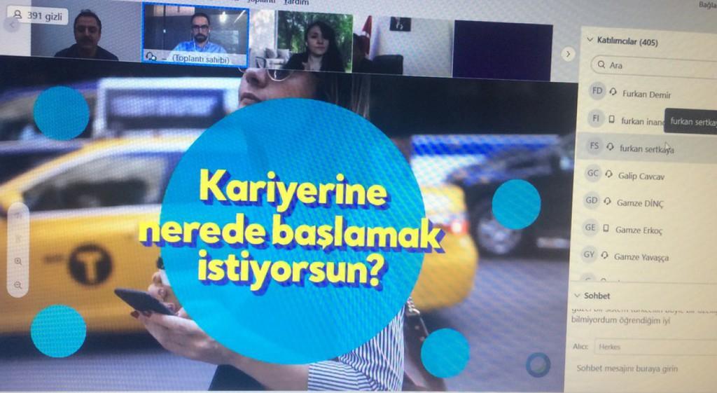 DPÜ KAMER'den Hayallerin Turkcell'le Gelecek Etkinliği
