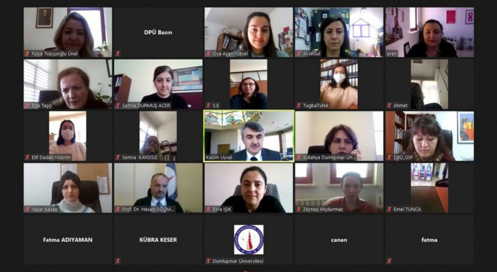 DPÜ'de 8 Mart Dünya Kadınlar Günü Tebrik ve Değerlendirme Toplantısı