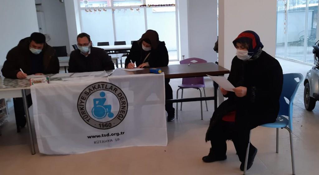 TSD Kütahya Şubesi 7. Olağan Genel Kurul Toplantısı Yapıldı