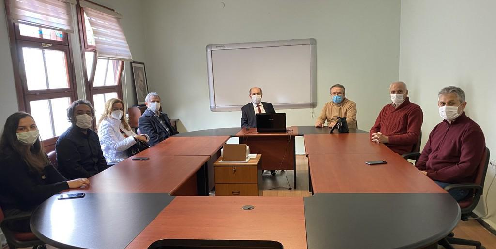 DPÜ İİBF'de Proje Toplantısı