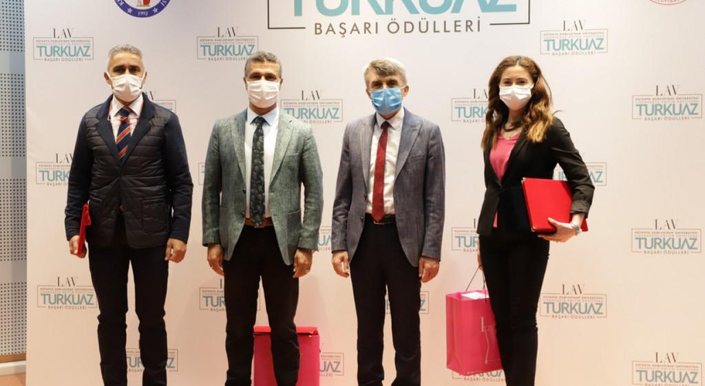 DPÜ'de LAV Turkuaz Başarı Ödülleri Töreni